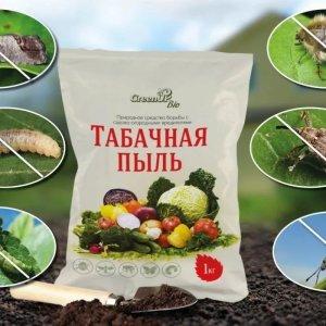 Табачная пыль от вредителей и для урожая