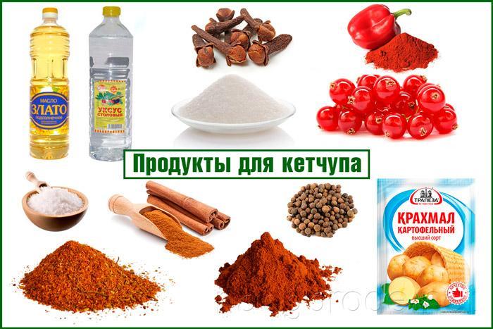 Кетчуп из ягод смородины